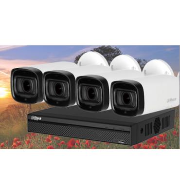 PROMO Kit 4 caméras videosurveillance DAHUA